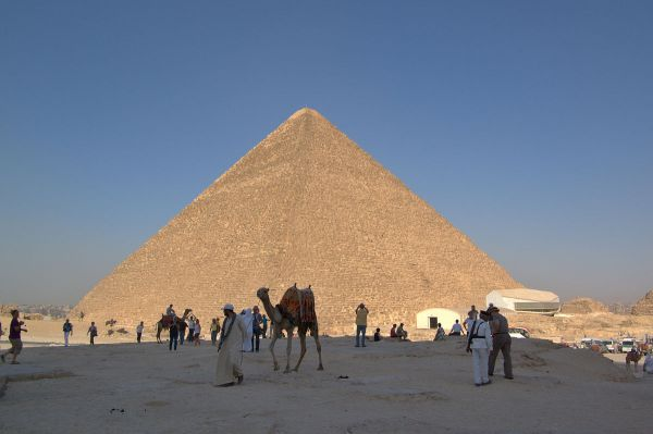 9.  Sedimentary, Limestone.  Great Pyramid of Giza.  11-03-2010.  by Berthold Werner