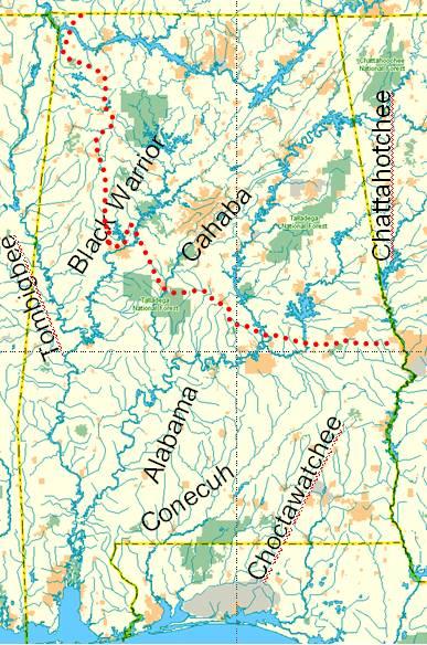 AL-CsP.  Rivers