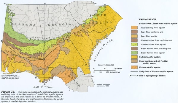 May 29, 2016 Weekly Geology Guess, The Alabama Coastal Plain   Bluff ...