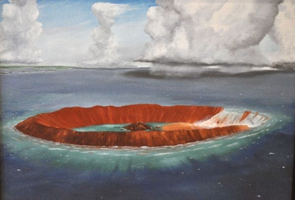 Wetumpka Meteor Crater Painting(2). encyclopediaofalabama.org