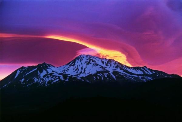 2. Sunrise on Mount Shasta, 2010. by Michael Zanger.