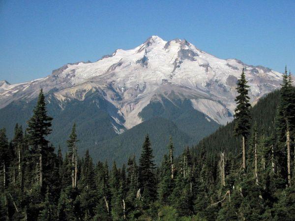 6. Glacier Peak. by Walter Siegmund