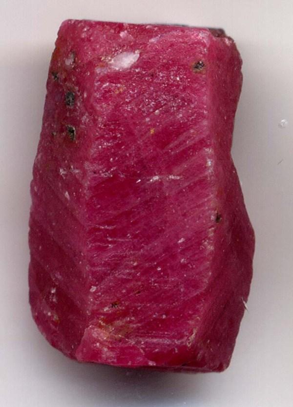 3 Corundum, Ruby Crystal, 2cm. Adrian Pingstone picture
