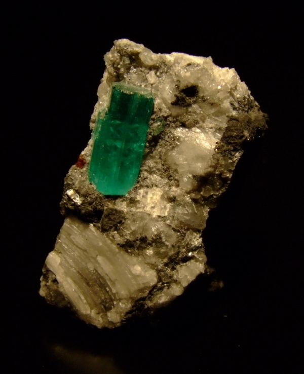 4. Beryl, Emerald crystal, Muzo Colombia. 2009. M M
