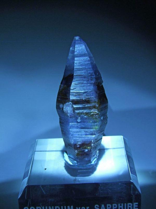 4. Sapphire Crystal, 2.25in, 231 c., Sri Lanka