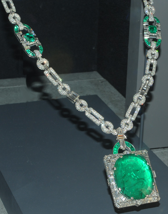 5. Beryl, MdKay Emerald Necklace, 168c. NMNH