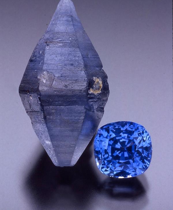 5. Corundum, Sapphire, rough-cut. Ceylon. www.johnjbradshaw. com