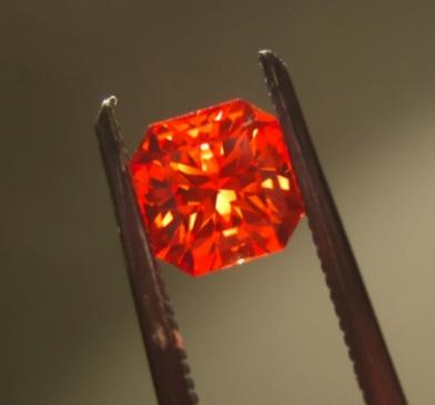 9. Corundum, Padparadscha sapphire. Alextryan talk. public domain